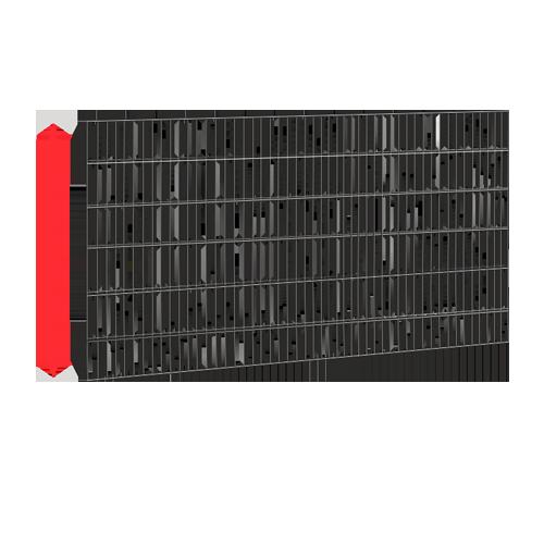 Висота секції 1,23 - 2,4 м