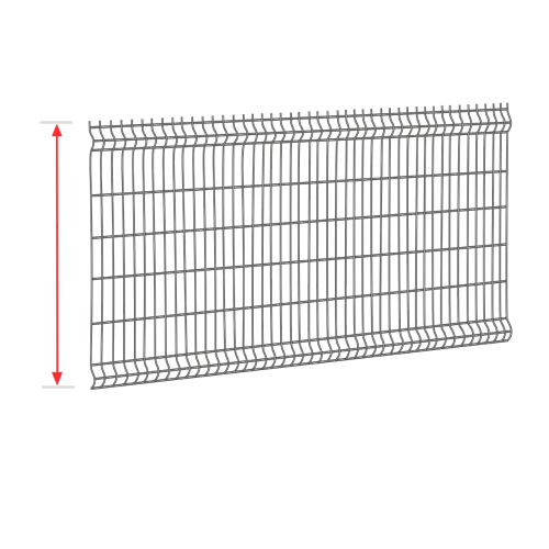 Висота секції від 1 до 2,4 м